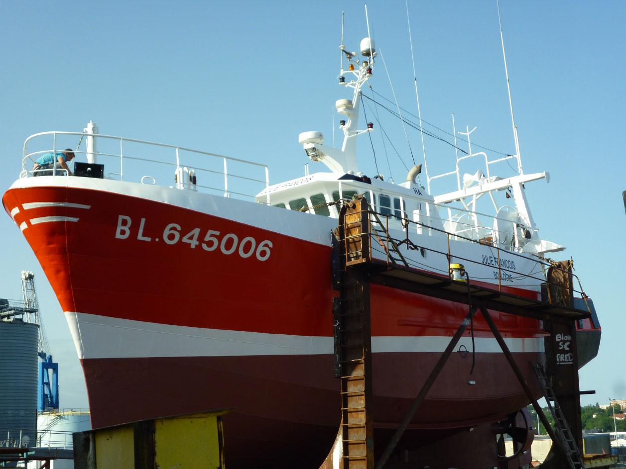 peinture navale sur dieppe